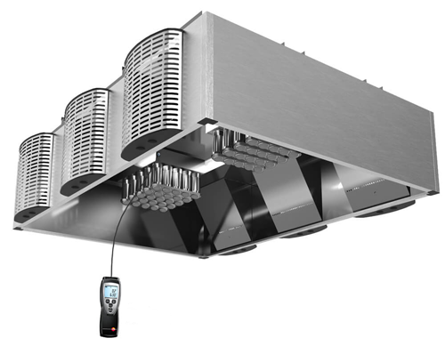 JCE exhaust air measurement