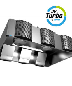UV-Turbokåpor fettreducering