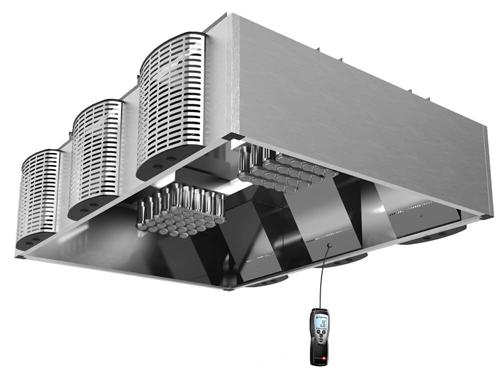 JCE measurement supply air