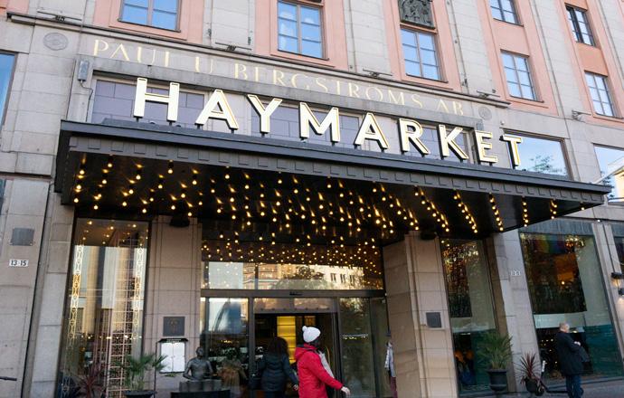 Jeven, referenscase, HayMarket