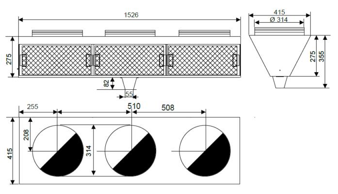 JFV-3 Trådnäsfilter